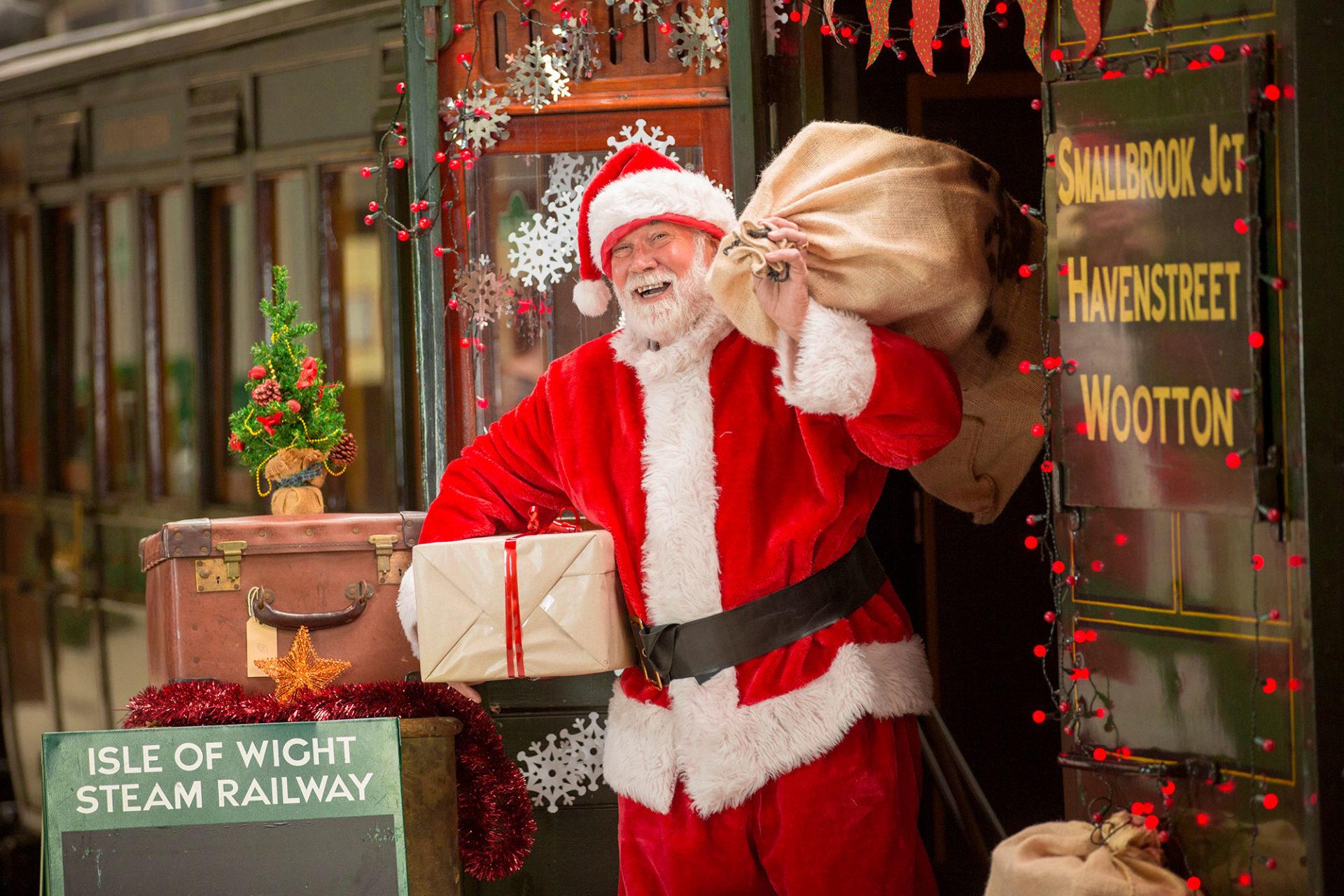 Santa at IWSR