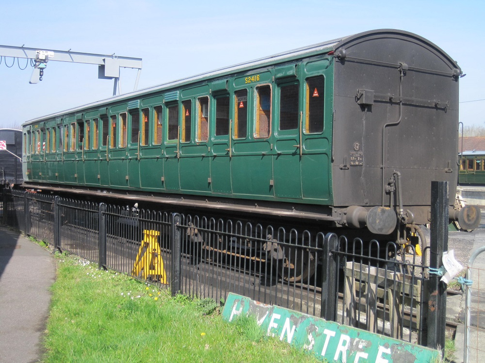 Bogie Carriages 1