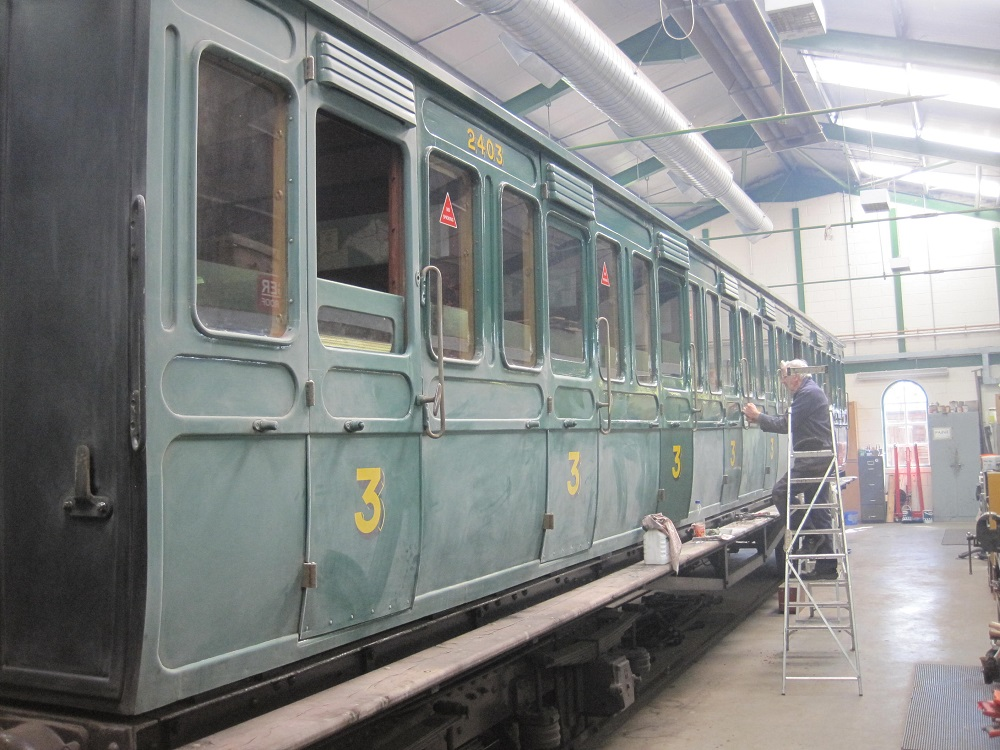 Bogie Carriages 6