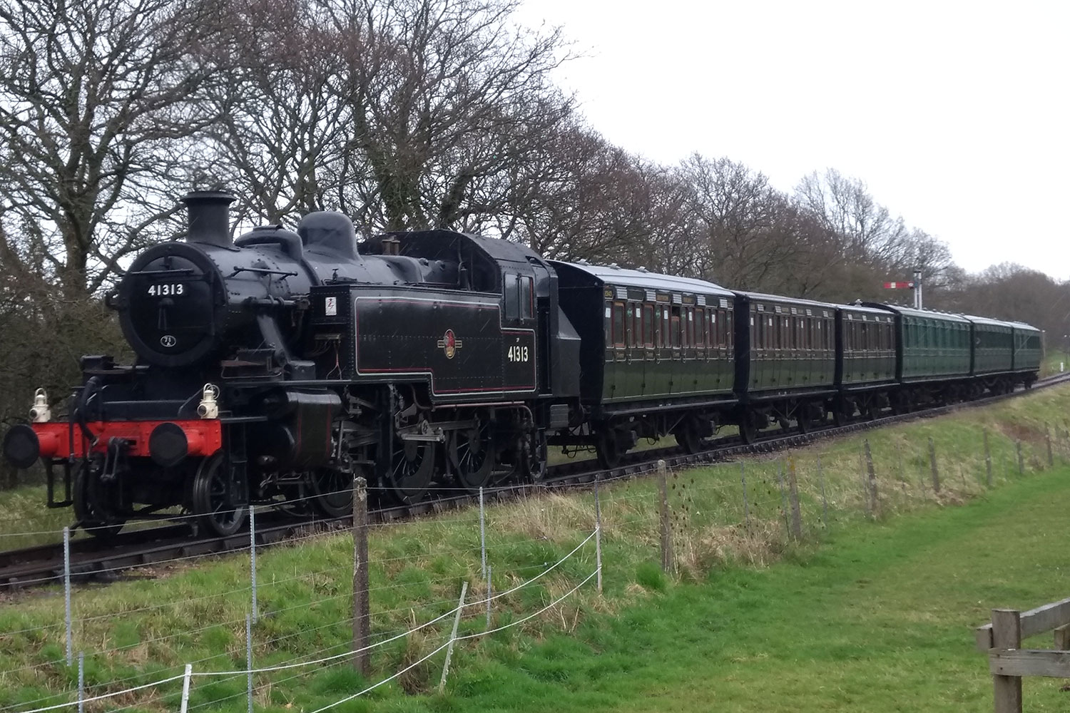 First Island train for Ivatt 41313