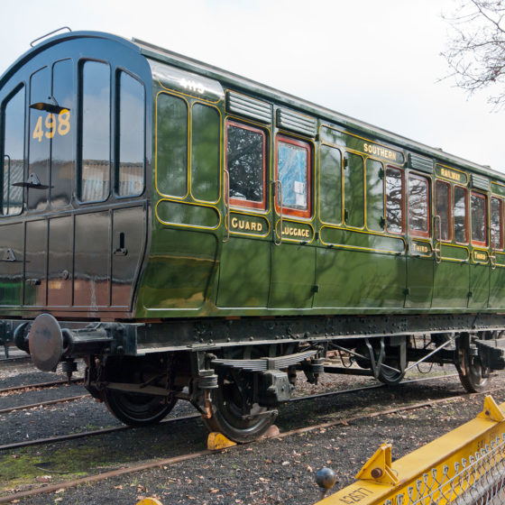 London, Brighton and South Coast Railway LBSCR Brake Third 4115 - Header
