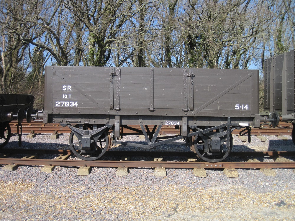 Wagons and Departmental Stock 9
