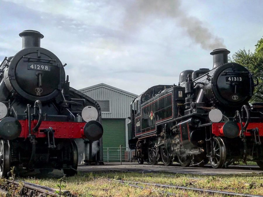 Meet our Ivatt twins